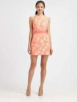 Milly - Sonya Jacquard Sheath Dress