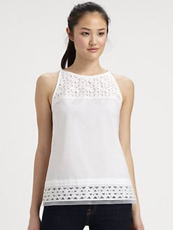Milly - Sienna Laser-Cut Top