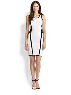 MILLY - Paneled Bodycon Dress