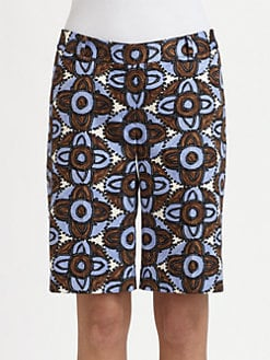 Milly - Printed City Shorts