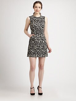 Milly - Coco Cheetah-Print Dress