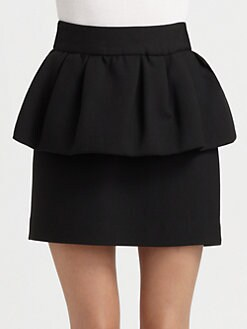 Milly - Peplum Skirt