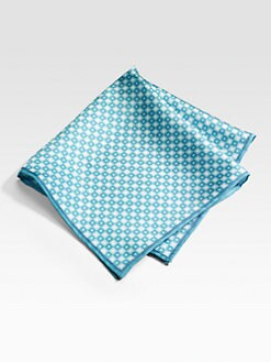 Saks Fifth Avenue Men's Collection - Silk Pocket Square/Squares