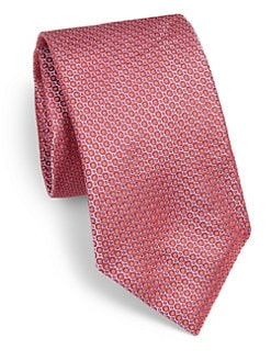 Saks Fifth Avenue Men's Collection - Monte Carlo Neat Silk Tie