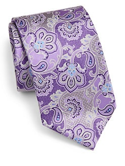 Saks Fifth Avenue Men's Collection - Westminister Paisley Silk Tie