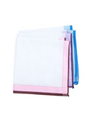 COLLECTION Cotton Handkerchiefs, Set of 3