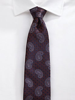 Saks Fifth Avenue Men's Collection - St. Moritz Paisley Tie