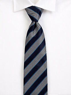 Saks Fifth Avenue Men's Collection - Merible Stripe Silk Tie