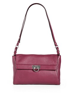 Salvatore Ferragamo - Mvit Abbey Leather Crossbody Bag