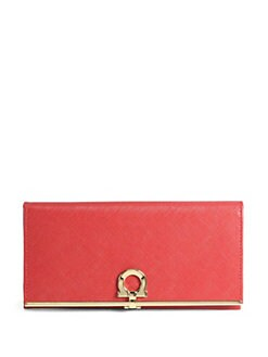 Salvatore Ferragamo - Gancini Icona Continental Wallet