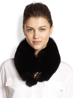 Salvatore Ferragamo - Fur Cowl Scarf