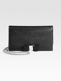 Salvatore Ferragamo - Miss Vara Bow Chain Wallet