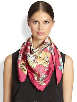 Salvatore Ferragamo - Shopping Spree Silk Scarf