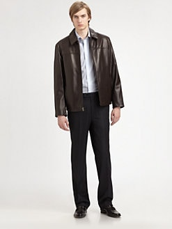 Saks Fifth Avenue Men's Collection - Leather Jacket