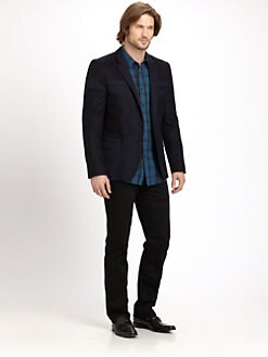 Hugo - Abos Color-Blocked Peacoat