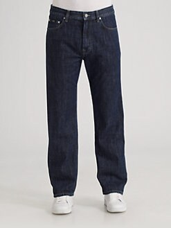 BOSS Black - Alabama Straight-Leg Jeans