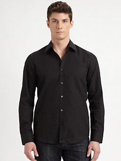 Hugo Boss - Textured Button-Down Shirt