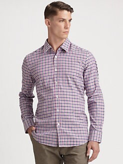 BOSS Black - Pastel Check Shirt