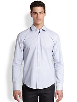 BOSS Black - Ronny Striped Sportshirt