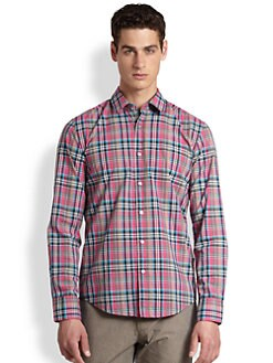 BOSS Black - Ronny Plaid Sportshirt