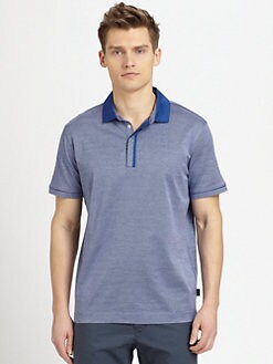 BOSS Black - Bellano Mercerized Cotton Polo