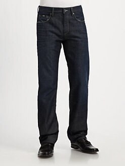 BOSS Black - Kansas Straight-Leg Jeans