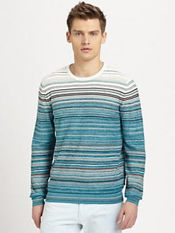 BOSS Black - Gunar Striped Sweater