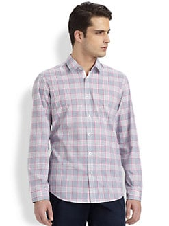 BOSS Black - Lorenzo Plaid Sportshirt