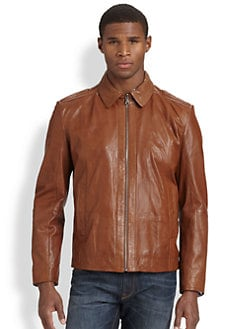 BOSS Black - Garrin Leather Jacket