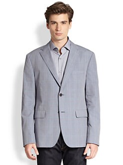 BOSS Black - Coastus Plaid Blazer