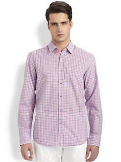 BOSS Black - Lucas Fancy Vichy Plaid Sportshirt