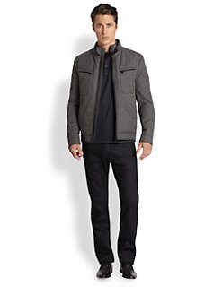 BOSS HUGO BOSS - Tapont Techno Melange Jacket