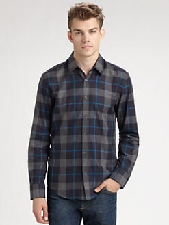 BOSS Black - Ronny Check Sportshirt