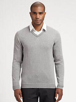 BOSS Black - Bachano V-Neck Sweater