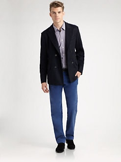 BOSS Black - Clynt Double-Breasted Peacoat