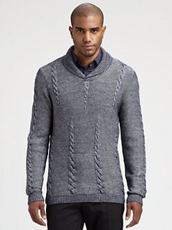 Hugo - Shakespeare Shawl Collar Sweater