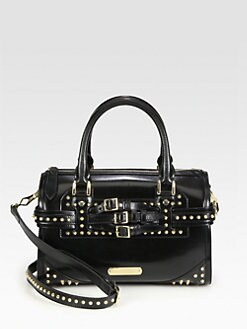 Burberry - Alchester Studded Bowling Bag
