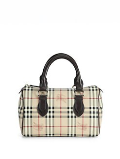 Burberry - Large Top-Handle Bag