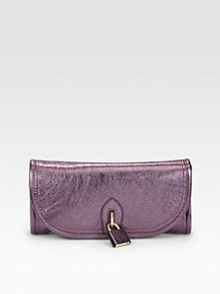 Burberry Prorsum - Prorsum Mayfield Metallic Leather Clutch