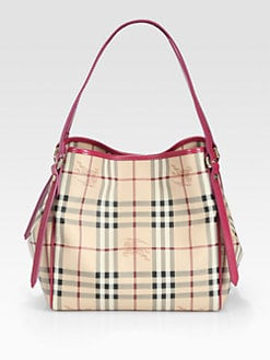 Burberry - Cantebury Coated Canvas Tote