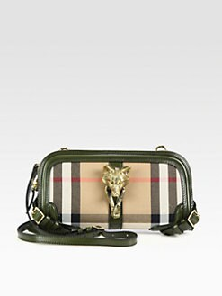 Burberry - Alma Fox Head Clutch