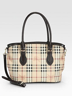 Burberry - Newfield Coated Canvas Tote