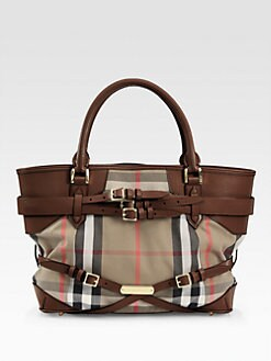 Burberry - Medium Check Tote