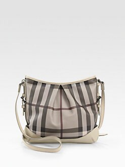 Burberry - Check Crossbody Bag