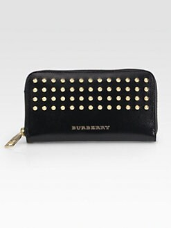Burberry - Ziggy Large Studded Zip-Around Wallet