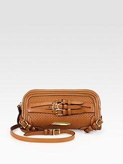 Burberry - Alma Boc Woven Clutch