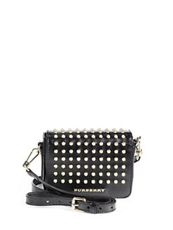 Burberry - Berkeley Studded Crossbody Bag
