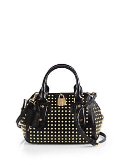 Burberry - Blaze Studded Satchel Handbag