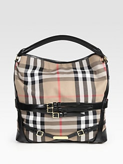 Burberry - Large Check Hobo
