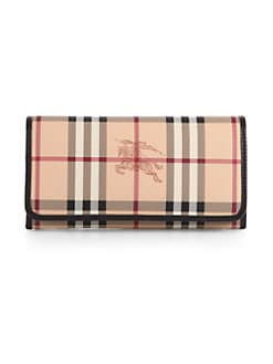 Burberry - Penrose Check Continental Wallet